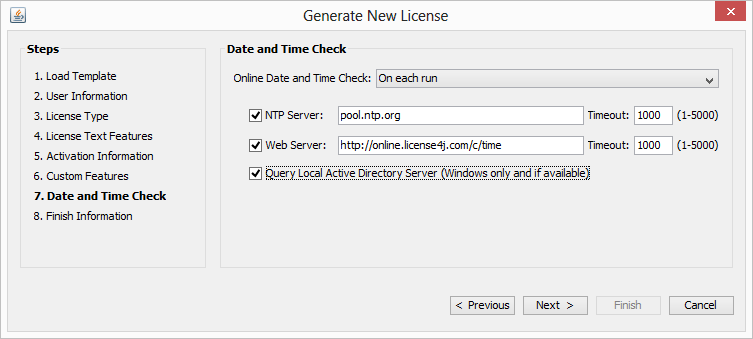 License4J - License Manager Features, Java Software Licensing Solutions
